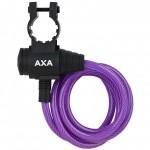 AXA zámek Zipp 120/8 klíč fialová