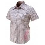 IXS Košile DERBY bílá, krátká, bavlna, dámská
