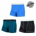 SENSOR COOLMAX FRESH 3-PACK pánské trenky černá/safír/modrá