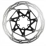 SRAM Kotouč Centerline 2 Piece 180mm Black (v balení titanové šrouby) Rounded