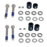 AVID Set POST podložek - 20 S (přední 180/zadní 160), v balení nerezové montážní šrouby (CPS &