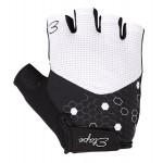 ETAPE dámské rukavice BETTY, bílá/černá