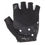 ETAPE dámské rukavice BETTY, černá/bílá