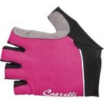 CASTELLI dámské rukavice Roubaix W Gel, alba pink