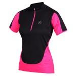 ETAPE dámský dres NELLY, černá/růžová
