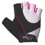 ETAPE dámské rukavice RIVA, bílá/růžová