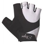 ETAPE dámské rukavice RIVA, černá/bílá