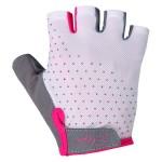 ETAPE dámské rukavice MIA, bílá/růžová