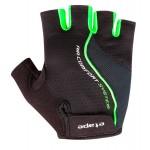 ETAPE pánské rukavice DRIFT, černá/zelená