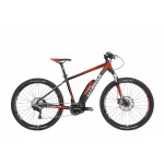 "WHISTLE MTB 27,5"" Yonder S 20"" black/fluo red (e-b"