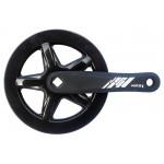MAX1 kliky 1-převodník single 152mm/40z černý,kryt