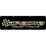 """DA-BOMB Banner """"Da Bomb Precision Hardware"""""""