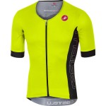 CASTELLI pánský dres Free Speed Race, yellow fluo/antracit