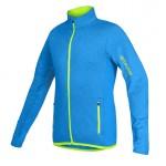 ETAPE dětský dres BONO, modrá melír/žlutá fluo