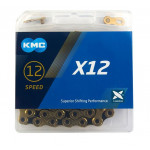 KMC X-12 BOX ČERNO/ZLATÝ