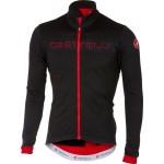 CASTELLI pánský dres Fondo FZ, black/red