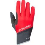 CASTELLI pánské rukavice Scalda Pro Glove, red/black