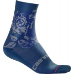 CASTELLI dámské ponožky Scambio 13 cm, dark infinity blue