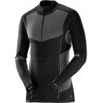 SALOMON triko Primo warm LS HZ M black 18/19