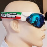 SALICE lyžařské brýle běžecké 807ITA white/RW blue