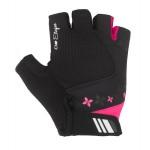 ETAPE dámské rukavice AMBRA, černá/růžová