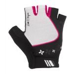 ETAPE dámské rukavice AMBRA, bílá/růžová