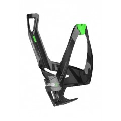 ELITE košík na láhev Cannibal XC černo/zelený lesk
