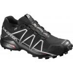 SALOMON boty Speedcross 4 GTX black/silver UK9