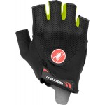 CASTELLI rukavice Arenberg Gel 2, black/yellow fluo