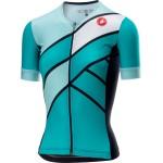 CASTELLI dámský triatlonový dres Free Speed W Race, turquoise green