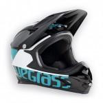 BLUEGRASS helma INTOX 2018 černá/modrozelená/bílá