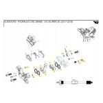 SRAM Caliper Piston Kit (includes 2-16mm & 2-14mm caliper pistons, seals & orings) - Guide R, R