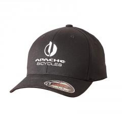 APACHE Kšiltovka Bicycles - černá S/M logo