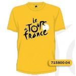TOUR DE FRANCE TRIKO TDF ŽLUTÉ TS LOGO