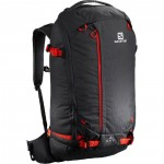 SALOMON batoh QST 30 ebony/cherry/tomato 19/20