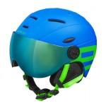 ETAPE dětská přilba RIDER PRO, modrá|zelená mat