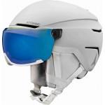 ATOMIC lyžařská helma Savor visor stereo white 59-63cm