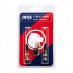 JOES JOE´S ventilky 2x Tubeless French/Presta valves 32 mm