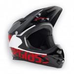 BLUEGRASS helma INTOX 2018 černá/červená/bílá