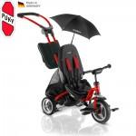 PUKY Dětská tříkolka CAT S 6 City Premium, červená