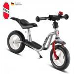 PUKY Odrážedlo Learner Bike medium LR M PLUS, stříbrná/červená