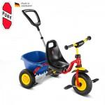 PUKY Dětská tříkolka CAT 1 L, červená