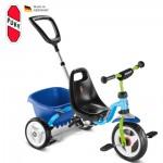 PUKY Dětská tříkolka CAT 1 S, modrá/kiwi