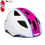 PUKY Dětská helma PH8 M, bílo-růžová