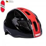 PUKY Dětská helma PH8 M, černo-červená