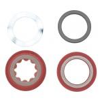 SRAM Bottom Bracket Shield and Wave Washer Assembly PressFit GXPMTB
