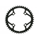 TRUVATIV Chain Ring MTB 44T V4 104 Alum 4mm Hard Black