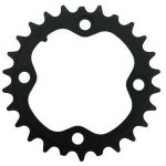 TRUVATIV Chain Ring MTB 22T V3 64 Alum Hard Black
