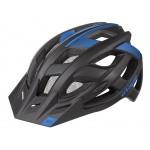 ETAPE cyklistická přilba ESCAPE, černá|modrá mat