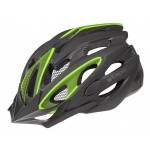 ETAPE cyklistická přilba BIKER, černá|zelená mat